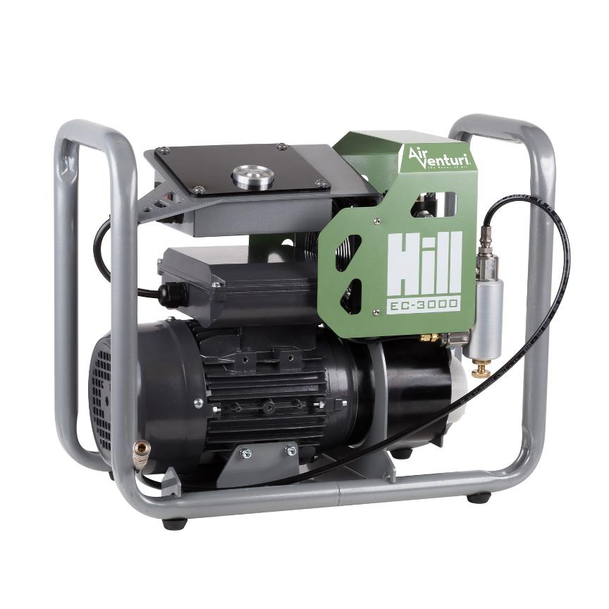 Air Venturi EC-3000 Compressor by Hill, 4350 PSI/300 Bar, 110 V