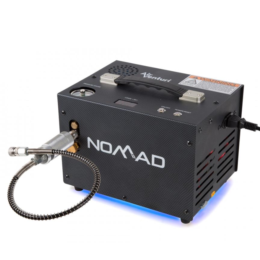 Air Venturi Nomad II 4500 PSI  Portable PCP Air Compressor