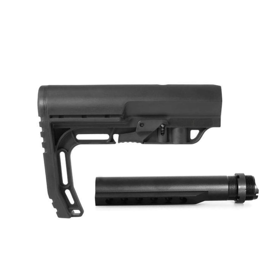 Special!!!PCP Collapsible Buttstock with Buffer Tube and Castle nut