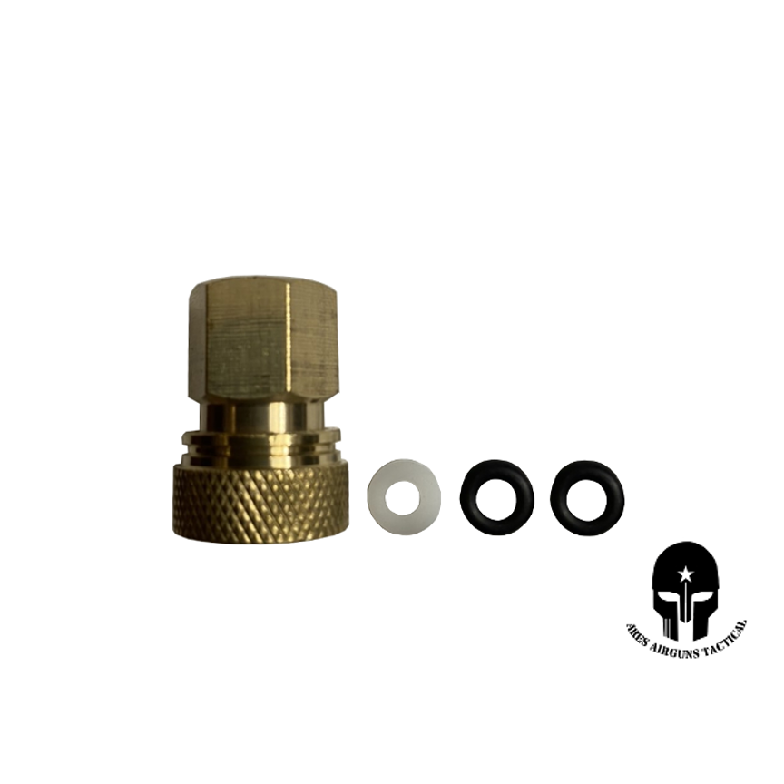 ARES Quick-Disconnect Fitting Female for AEA Fill Probe-Brass