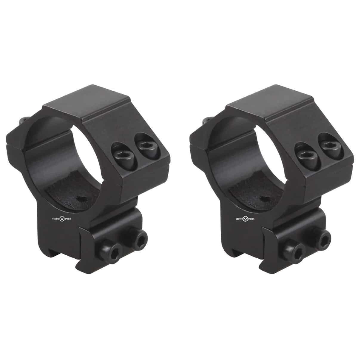 Vector Optics 30mm Dovetail Rings: Medium(SCOT-55M)