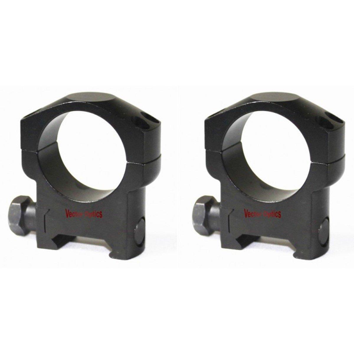 Vector Optics 30mm Medium Mark Weaver Mount Rings(SCTM-22)